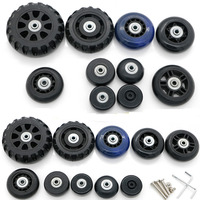 Luggage Repair Parts Replacement Luggage Suitcase 360 Spinner Upright Mute Wheels