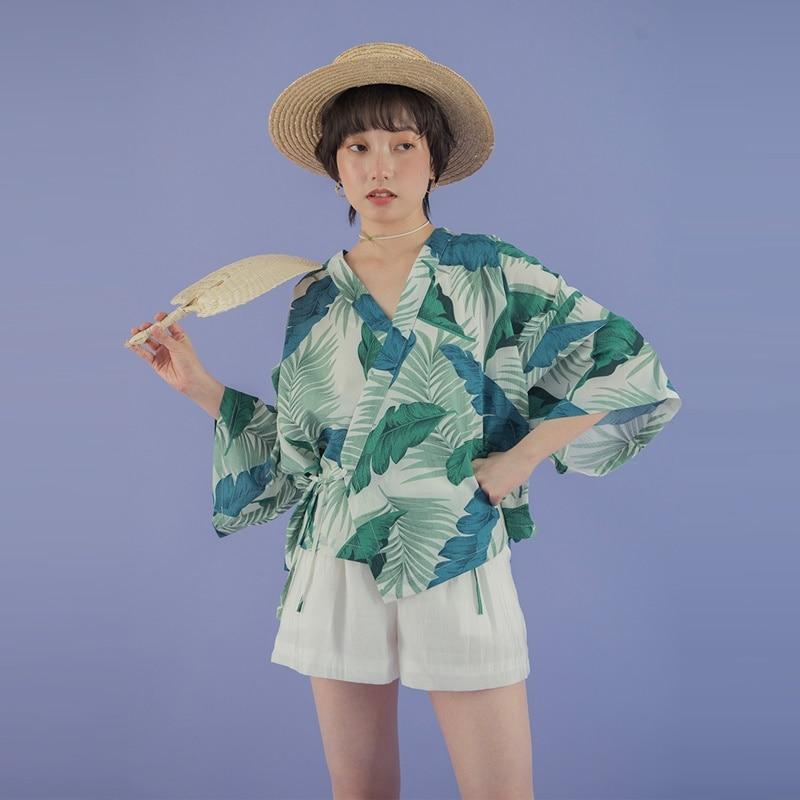 Learned Kimonos Woman 2018 Japanese Kimono Cardigan Cosplay Shirt Blouse For Women Japanese Yukata Female Summer Beach Kimono Ae002 Traditional & Cultural Wear Novelty & Special Use