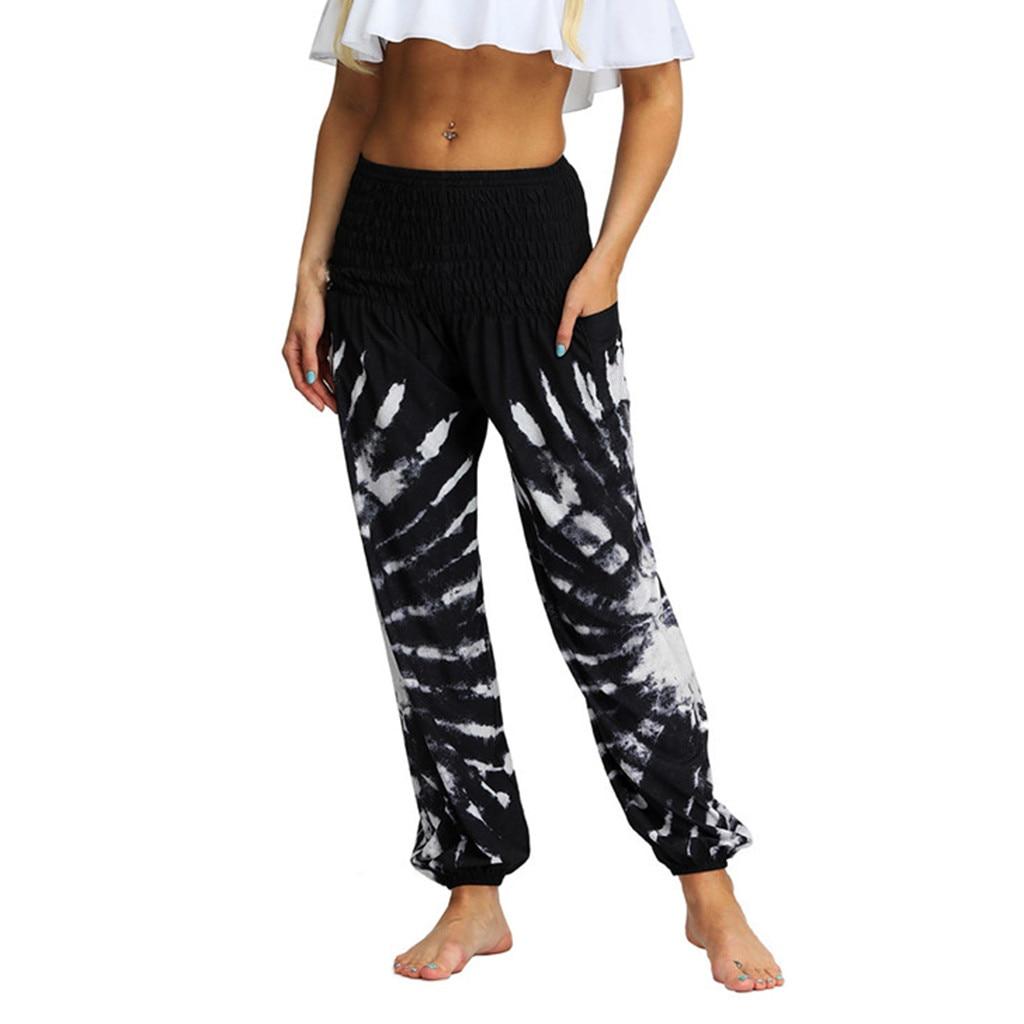 Fashion Men Women Summer Pants Casual Sports Fitness Loose Hippy Yoga Trousers Baggy Gym Workout Boho Aladdin Yoga Broek 2019