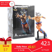 21.5 centímetros Figuras de Ação De Dragon Ball Z Super Saiyan Goku Anime Dragonball Mestre Figurine Collectible Toy Modelo Para Crianças # E(China)