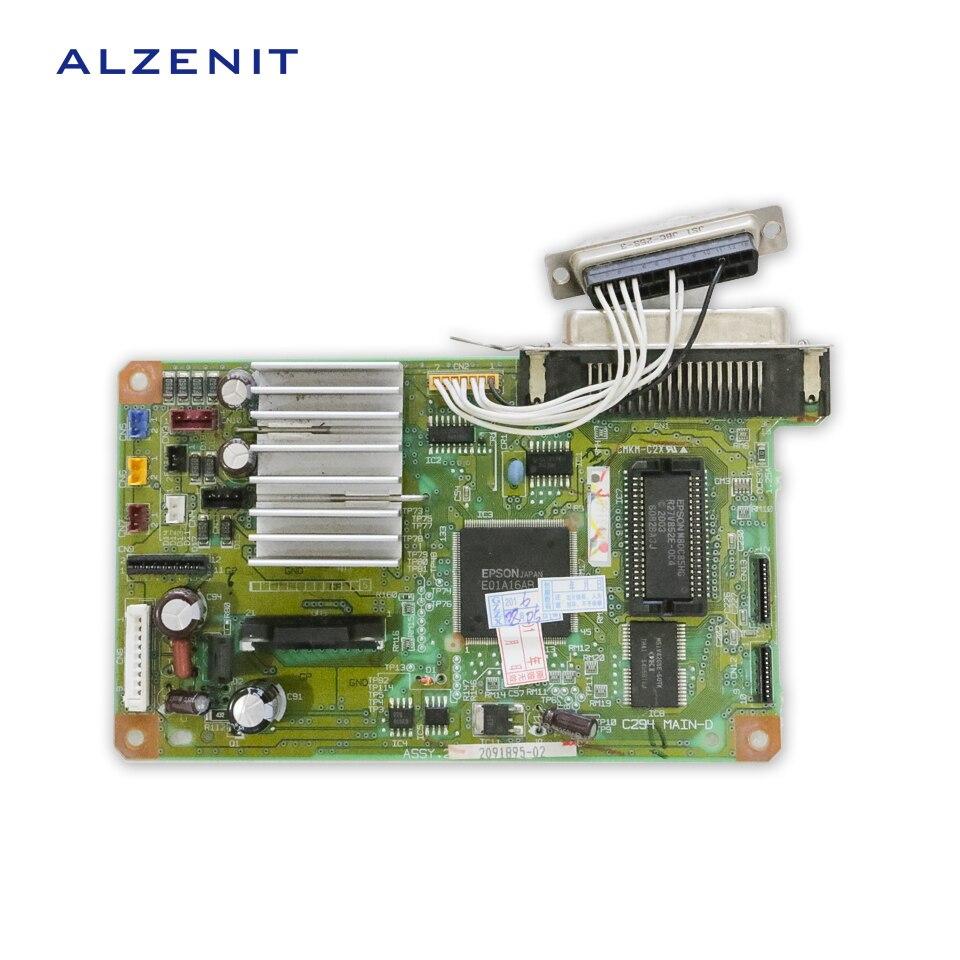 GZLSPART For Epson LX300+ LX 300+ Original Used Formatter Board Printer Parts On Sale gzlspart for epson tx600fw tx600 600fw original used formatter board printer parts on sale