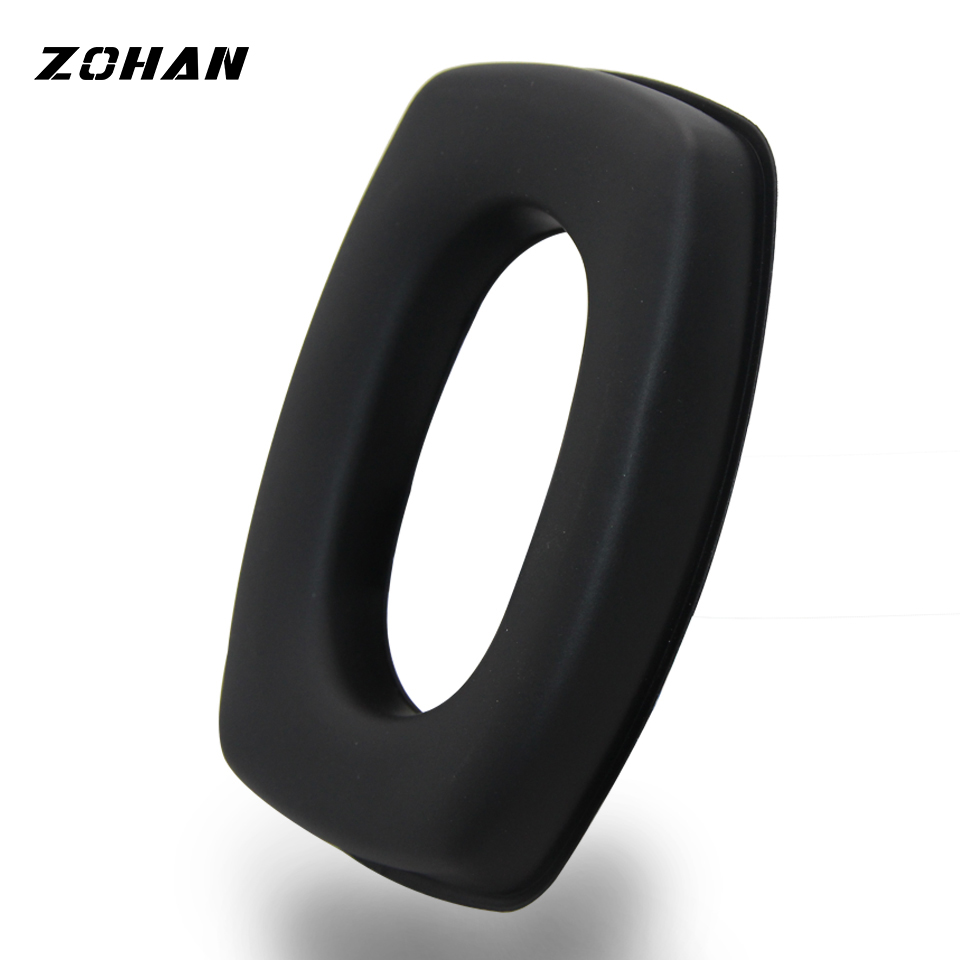 ZOHAN Replacement Ear Cup Cushions For Hearing Protector Applicable To Howard Light Impact Electronic Shooting Earmuff
