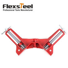 1PC 90 Degree Right Angle Clamp Picture Frame Corner Clamp Holder for Woodworking Quick Fixed Glass Angle Clamps Photo Clip Tool three dimensional right angle clip lab cross clamp laboratory metal grip supports laboratory clamp angular splint