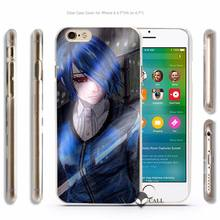 Tokyo Ghouls Hard Transparent Phone Case Cover for Apple iPhone 4 4s 5 5s SE 5C 6 6s 7 Plus – 20