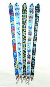 1 PCS key lanyards id badge holder keychain straps