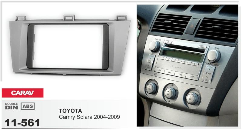 Navirider Android 8.0 radio tape recorder octa core 4GB RAM 32GB rom frame+DVD series fit for Toyota camry solara 2004 2009