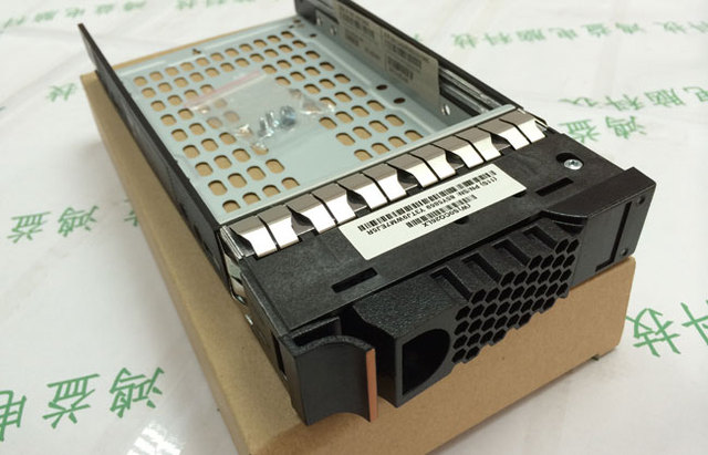 "Free Shipping High Quality New 3.5"" SAS SATA HDD Drive Tray Caddy Bracket PN 85Y5894 For IBM Server Storwize V7000"