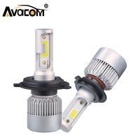 H1 H4 LED 12V 8000lm Car Bulb S2 Mini Headlight H8 H9 H11 9005 HB3 9006