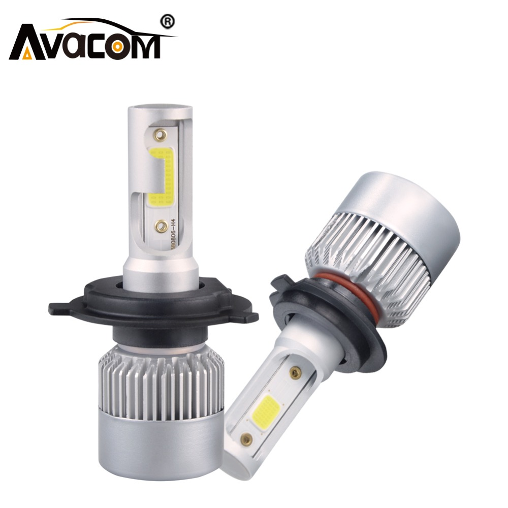 H1 H4 LED 12V 8000lm Mini Car Bulb Headlight H8 H9 H11 9005 HB3 9006 HB4 COB 72W 6500K 4300K 24V LED H7 Auto Lamp Car Fog Light