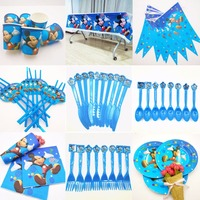 82PCS Mickey Mouse Party Decoration Set Birthday Party Decoration Festival Party Happy Birthday Event Party Supplies Set