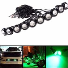 Car styling 18MM Led Eagle Eye DRL Daytime Running Lights Source Backup Reversing Parking Signal Lamps Waterproof Free Shippin