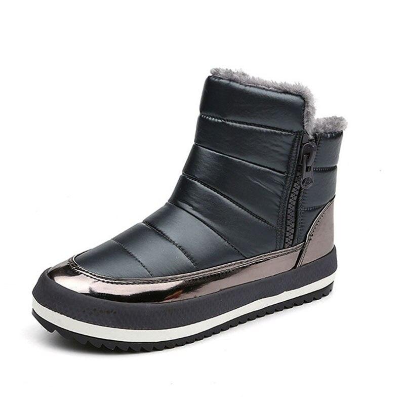 Il 2018 Elaborazione Scuro Scarpe De Botas Inverno Cuoio Mujer Dell'unità Alta Nero Di Cerniera rosso Donne Stivali Zapatos Donna Bling Nuove Confortevole grey WEHD92I