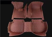 For Hyundai Creta ix25 2014-2017 Floor Mats Auto Foot Carpets Car Step Mats High Quality Brand New Embroidery Leather Mats