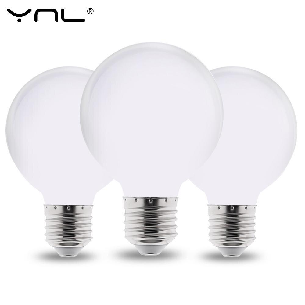 Image 5 - Milky LED Light Bulb E27 220V 110V Lampada G80 G95 G125 LED Lamp Ampoule LED Bulb Cold White Warm White for pendant lamp-in LED Bulbs & Tubes from Lights & Lighting