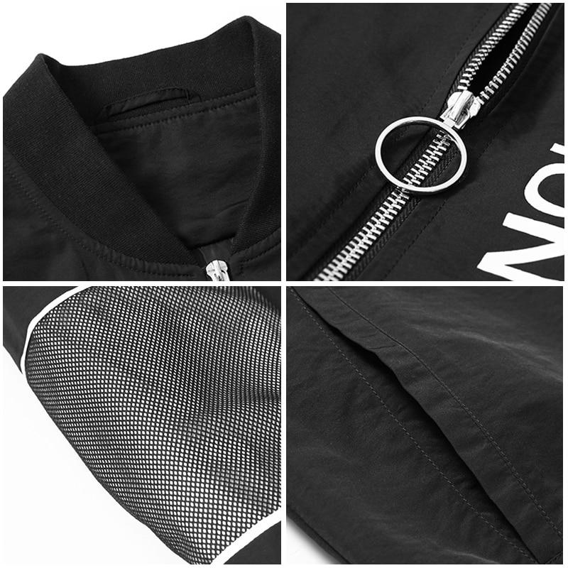 64202b1dd81 Пионерский лагерь Новые весенние куртки брендовая мужская одежда сетки  лоскутное модная куртка пальто для мужчин назад Письмо Печатные AJK801044  купить на ...