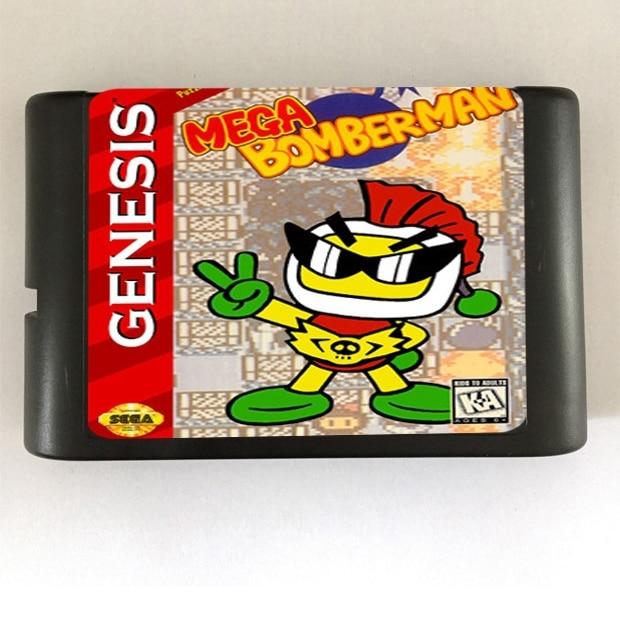 Mega Bomber Man - 16 bit MD Games Cartridge For MegaDrive Genesis console