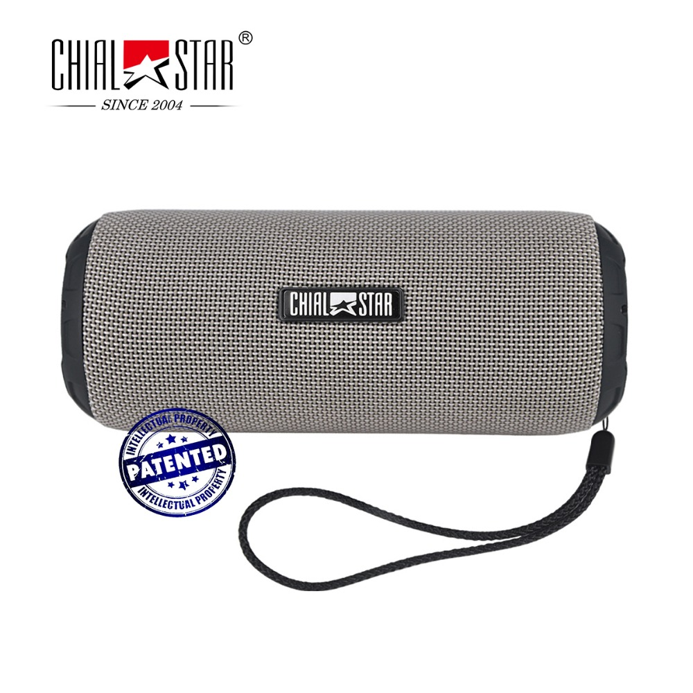 Chialstar Portable Wireless Outdoor Speaker Fabric Covering Bluetooth Speakers Waterproof IPX6 Music Player with Mic TF card lesoi f1 portable wireless bluetooth speaker support tf card
