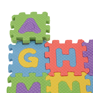 Image 5 - 36 개/대 아기 게임 매트 알파벳 숫자 아기 어린이 놀이 매트 어린이 부드러운 바닥 크롤링 러그 미니에 바 거품 매트