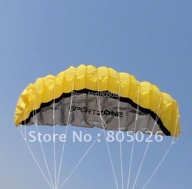 цена на High quality Stunt soft Power kite kite dual line traction kite store with handle line kite surfing free shipping hongyun wei