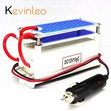 Kevinleo Ozone Generator Car 12V 10g Portable Ceramic Plate Air Purifier Air Sterilizer Car Ozone Air Air Cleaner Ozonizer Odor