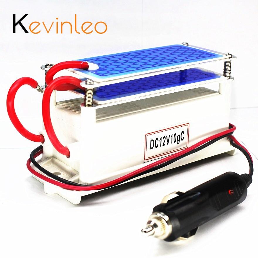 Best Buy Kevinleo Portable Ozone Generator Car Ceramic Plate DC12v 10g Air  Purifier Air Sterilizer
