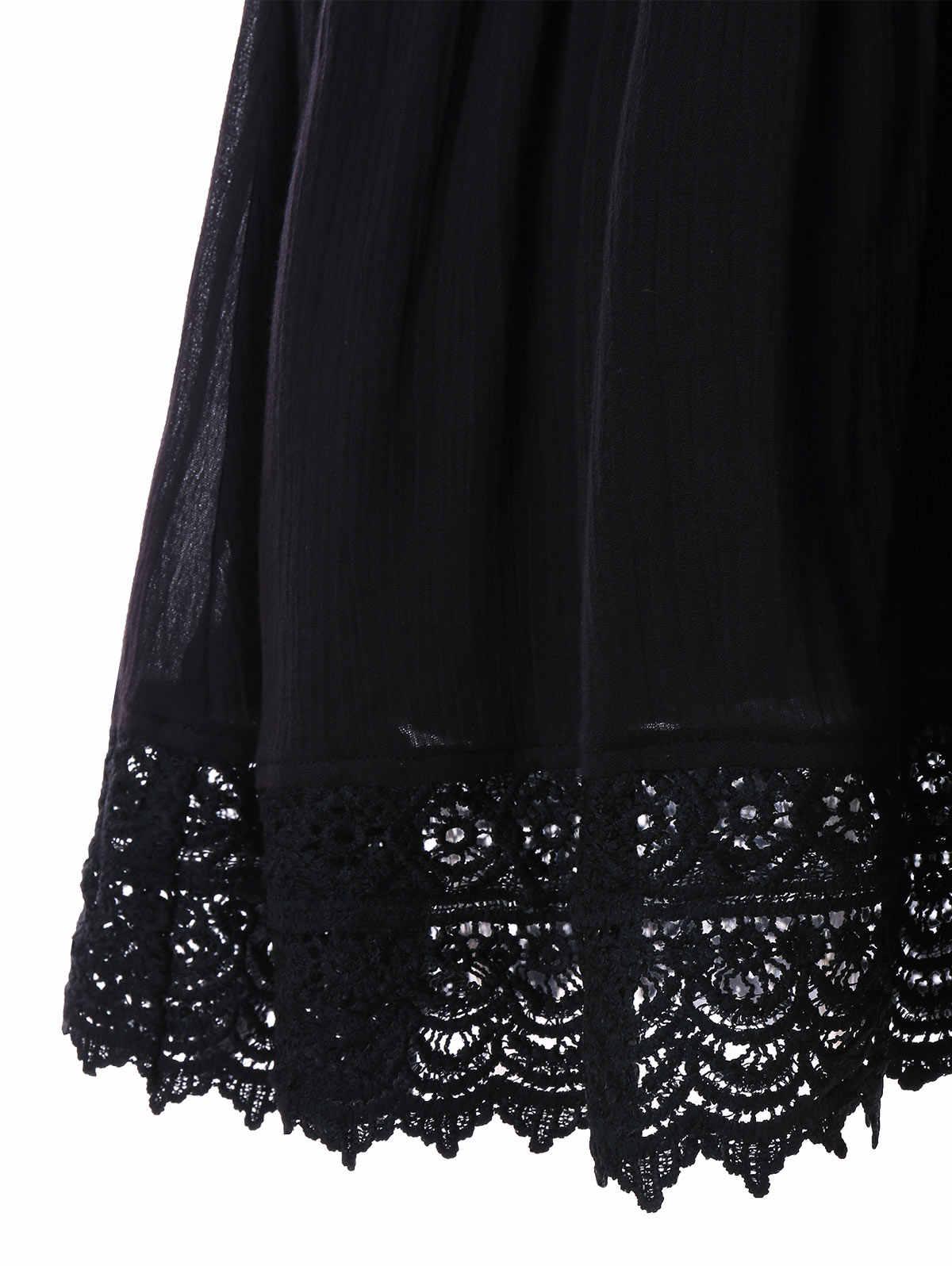 Wisalo кружевное платье без рукавов с открытой спиной, модное женское сексуальное платье без рукавов с v-образным вырезом на спине, Платья для вечеринок, черные платья с вырезами