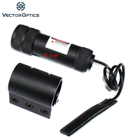 Vector Optics Guardian 5mw Red Laser Sight with Rifle Scope style adjustment with Weaver Mount Shock Proof Lazer