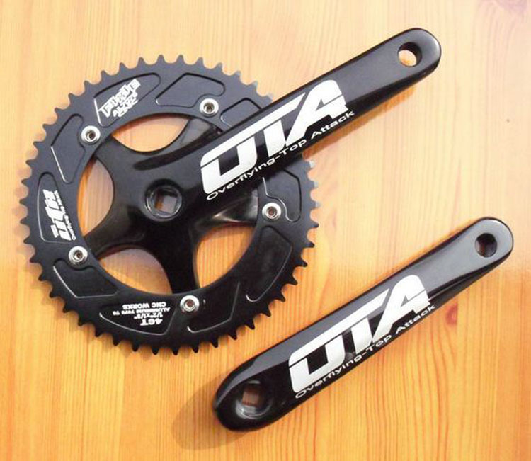 2015 48t Racing Ota Crankset Aluminum Single Speed Track Bicycle