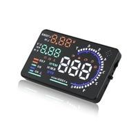 5.5 A8 Car HUD Head Up Display Universal OBD2/EUOBD Car GPS Overspeed Warning System