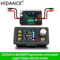 Alimentation à commande numérique 50V 5A tension constante réglable testeur de courant Constant voltmètre DC régulateurs ampèremètre