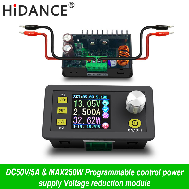 Digital Control netzteil 50 V 5A Einstellbare Konstante Spannung Konstante strom tester DC voltmeter Regler Amperemeter