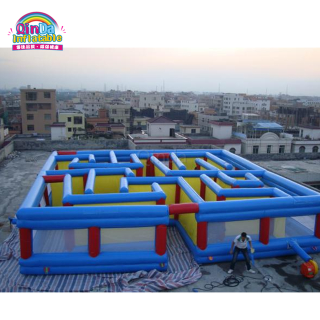 Guangzhou Qinda Outdoor inflatable recreation inflatable maze haunted for sale