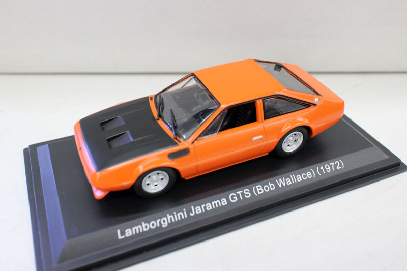 Diecast Toy Model 1:43 Lambor ghini Jarama GTS 1972 Sports Racing Car Vehicles Toy Model for Boy Gift,Decoration,Collection