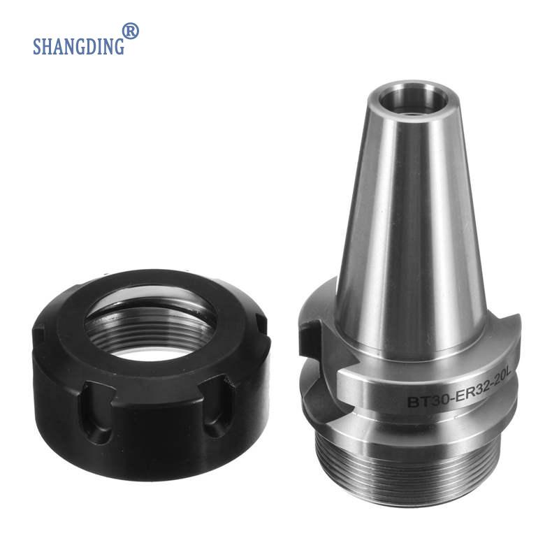 Best Price BT30 ER32 20L Collet Chuck Holder Short ER32 Toolholder For CNC Milling Lathe Very Tool Holder CNC Milling Lathe все цены