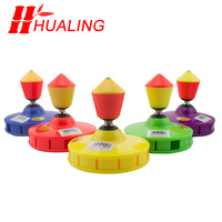 chinese Asymmetric diabolo 5Bearing Toys Professional Diabolo Set Packing with String Bag china