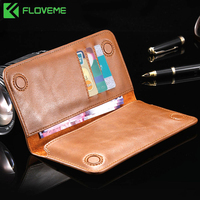 For IPhone 6 6s 7 8 Plus X Leather Wallet Case For Samsung Galaxy S8 Plus