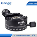 Benro PC0 Head Professional Panoramas Heads For Camera Magnesium Alloy Panhead Panoramas Clamp Max Loading 5kg DHL Free Shipping
