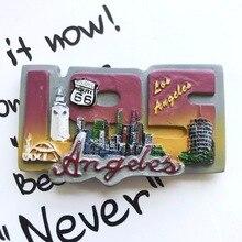 Los Angeles special tourist souvenir refrigerator
