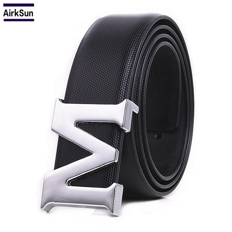 Designer Belts Men High Quality M Buckle Mens Belt Luxury Belts For Men