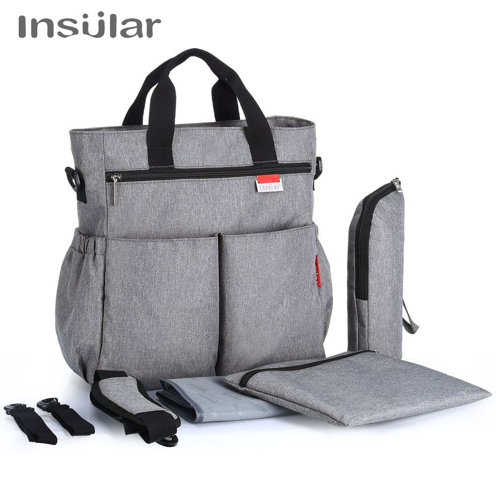 Baby Care Diaper Bag Multicolored Maternity Nappy Bags Multifunctional Baby Stroller Bags Mummy Handbag Mommy Shoulderbag