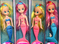 4 шт./лот дети рыбка девушки подарок на день рождения день защиты детей в подарок с коробкой пакет симпатичные принцесса кукла детские игрушки
