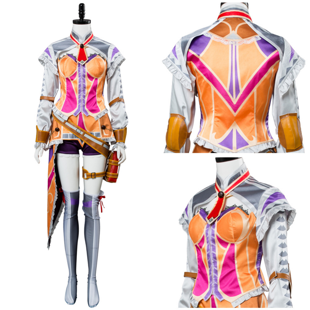 Ys 8 Laxia Cosplay Costume Lacrimosa of Dana Laxia Costume Outfit Men Women Halloween Carnival Cosplay Costume