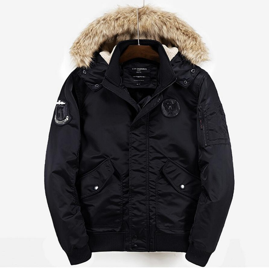 Long Hooded Parkas Men Thick Warm Mens Winter Jacket 2017 Male Brand Fashion Cotton Paddedclothing Man Coat Fur Collar Overcoat new winter fur collar jacket men thick long warm parka hooded coat overcoat male cotton jackets outwear parkas hombre invierno