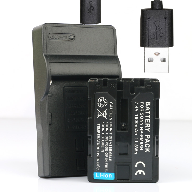 Lanfulang Np Fm55h Battery And Usb Charger For Sony M Type Equivalent Camcorder Camera Np Fm90 Np Fm91 Np Qm91 Np Qm51 Battery Np Camera Battery Chargerchargers For Camera Aliexpress
