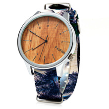 A Ausuky Watch Women Quartz Canvas Woman Wrist Watches High Quality Clock