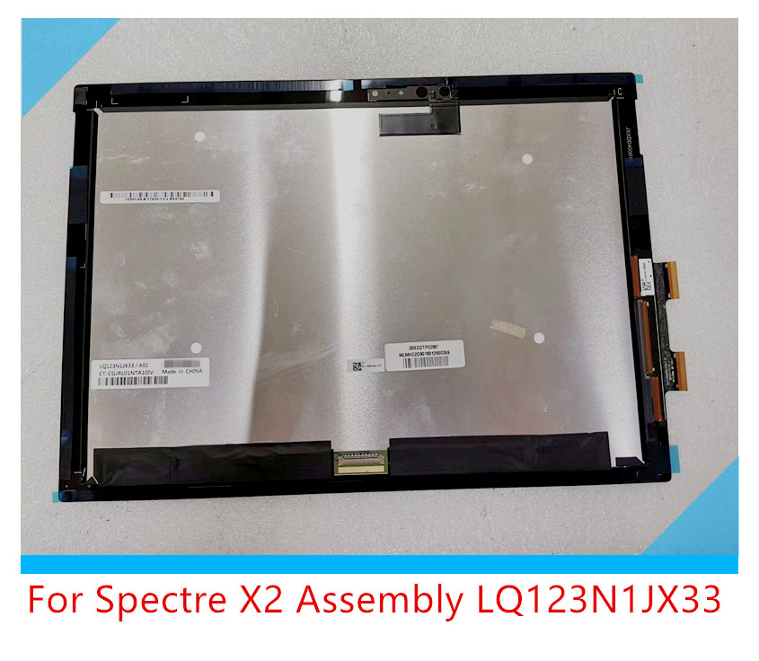 For HP Spectre X2 Screen Assembly LQ123N1JX33 A01 touch digitizer AssemblyFor HP Spectre X2 Screen Assembly LQ123N1JX33 A01 touch digitizer Assembly