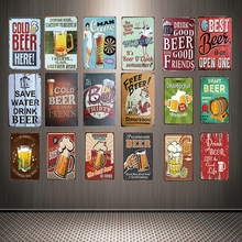 [ Mike86 ] Keep Calm And Have A Best Cold Beer Tin Sign Custom Poster Personality Classic Metal Painting Decor Art ZZ-06
