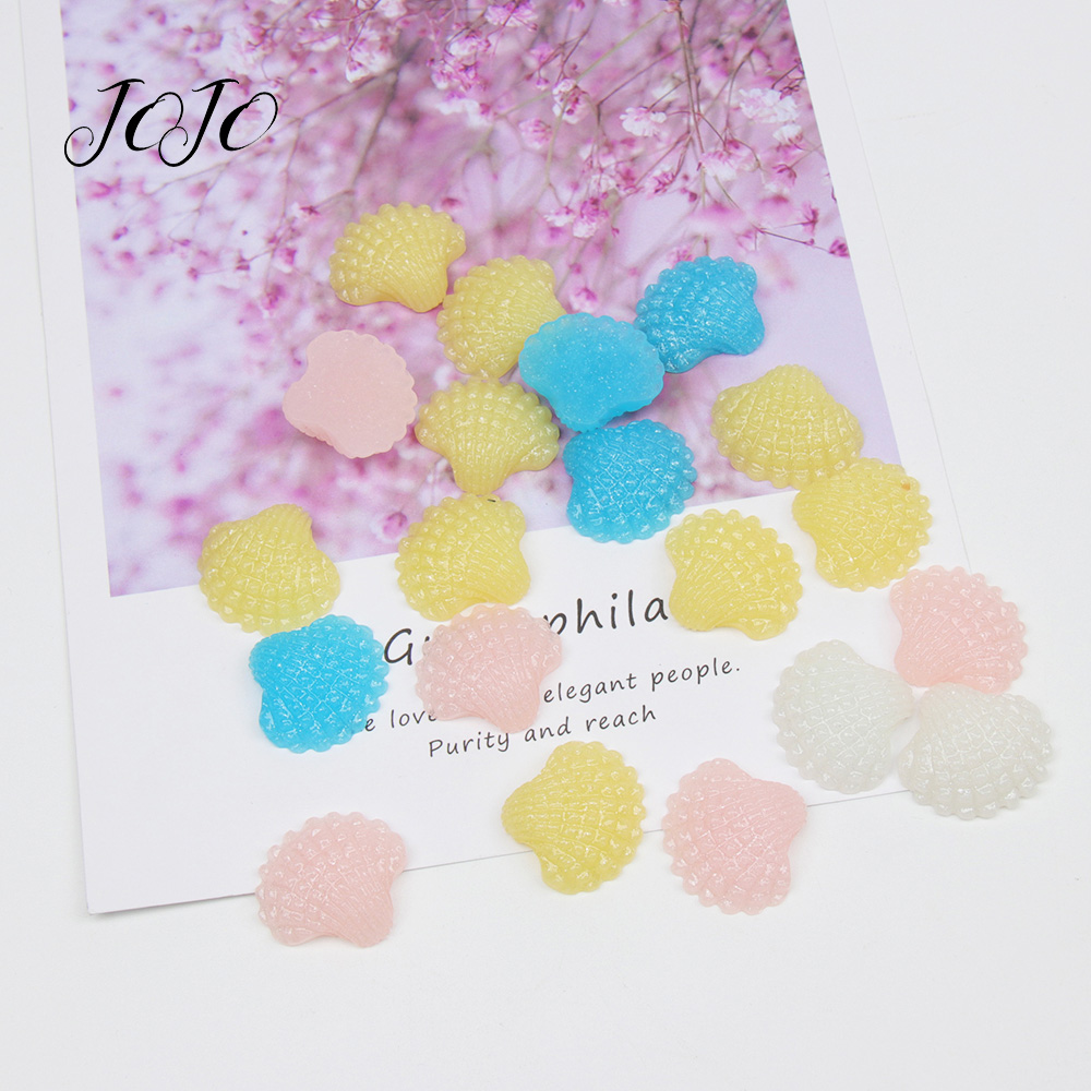 JOJO BOWS 10pcs DIY Craft Supplies Solid Shell Planar Resin Patches Accessories DIY Hair Bows Phone Sticker Apparel Decoration in DIY Craft Supplies from Home Garden