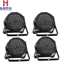 4pcs/lot good quality led par 36 X1w dmx par light american dj par rgb flat par light led lamp
