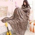 Cálida manta con Mangas Snuggie Fleece throw para Sofá/Cama/Avión de Viaje Mantas TV casual Relax para la familia vacaciones de Invierno de la Felpa